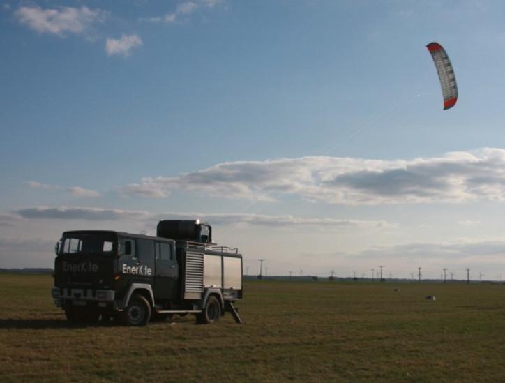 Exemplo de aerogerador Kite