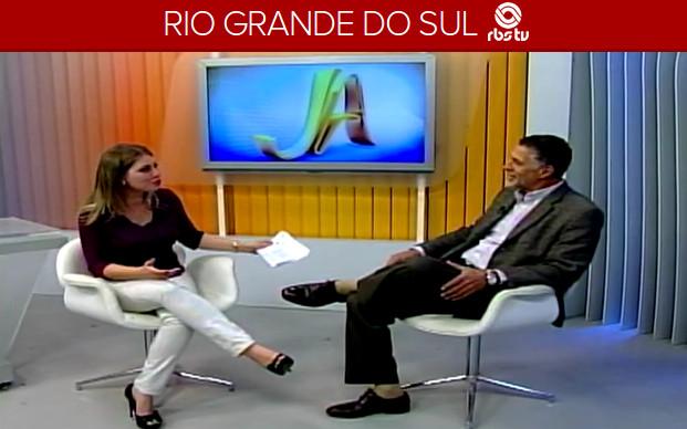 Presidente do Sagres em entrevista à RBS TV. Clique para assistir