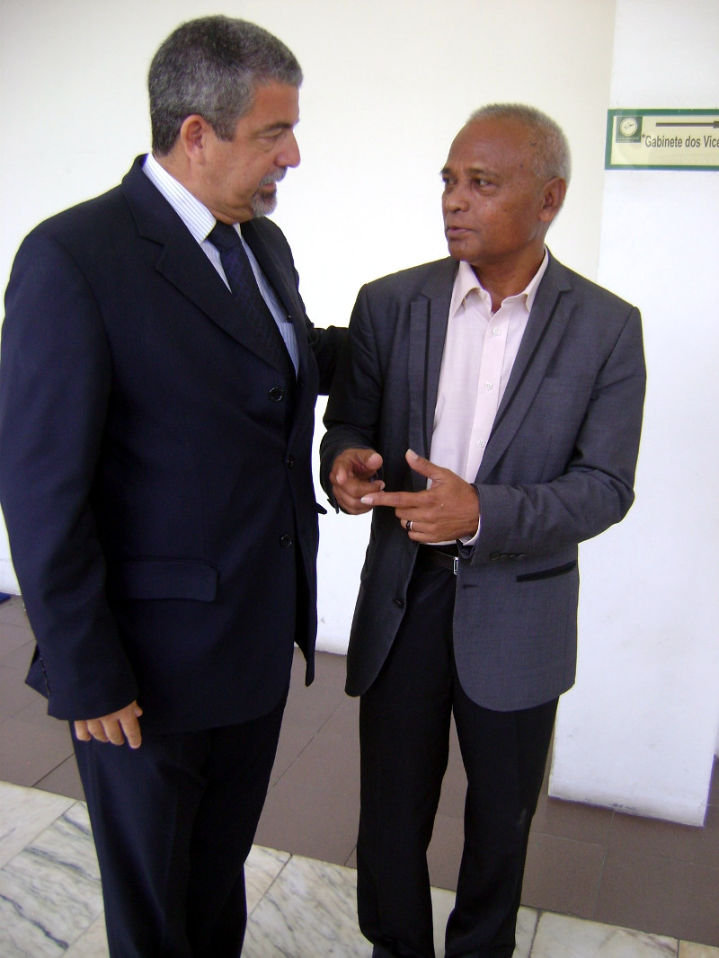 O Diretor Fernando Fernandes e o Sr Deputado Duarte Nunes – organizador do evento